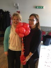 Are Danie and Sharon having too much fun at work today?
