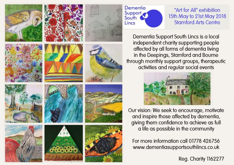 """Art for All"" Exhibition at Stamford Arts Centre"