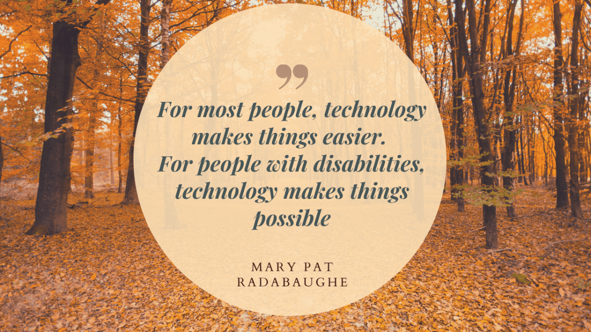 Technology quote_autumnual trees