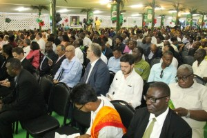 Special invitees and delegates at the opening of the PNC-Reform's 19th Biennial Delegates Congress.