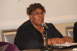 Director of Project Management at Jamaica's Ministry of Education, Marcia Phillips-Dawkins