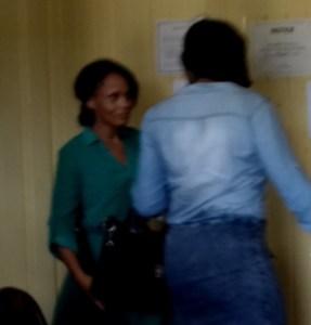 ACCUSED GANJA-IN-PRISON-TRAFFICKER: Prison Officer, Joanna Erskine