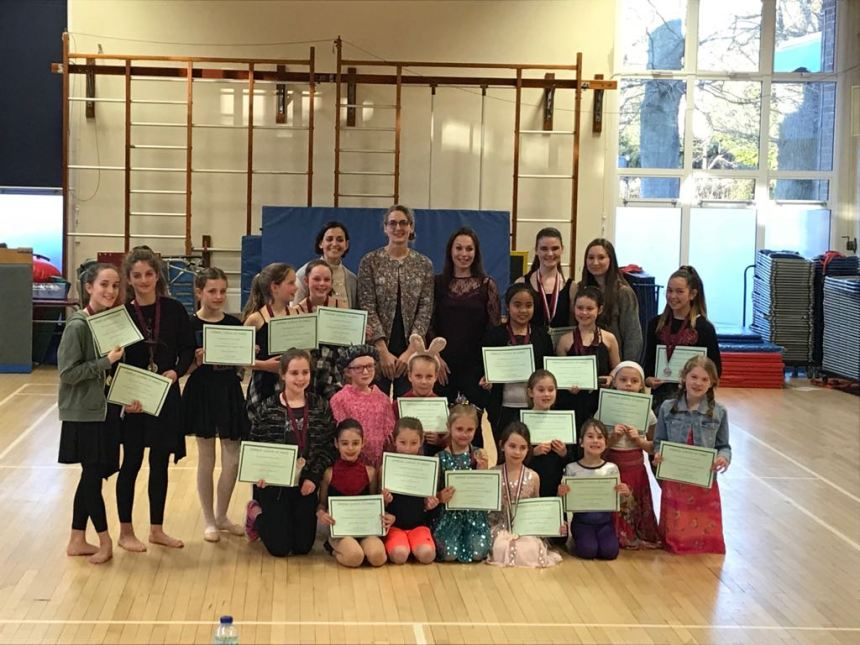 Choreography Competition 25th February 2018