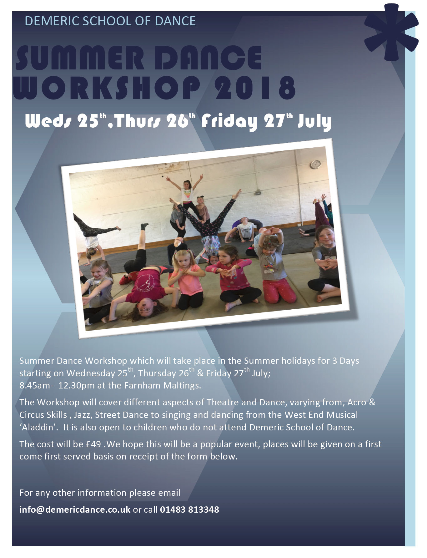 summer dance workshop 2018