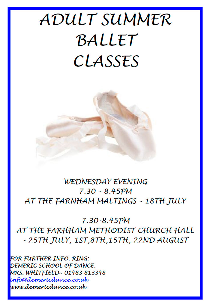 Adult Summer Ballet Classes