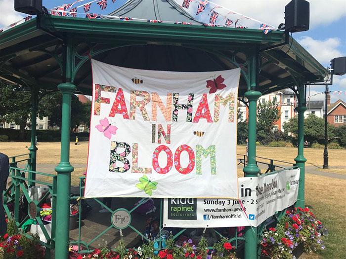 Farnham In Bloom 2018