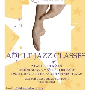 Adult Jazz Taster Classes