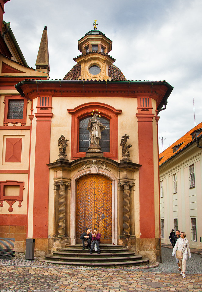 Prague. Hradčany.