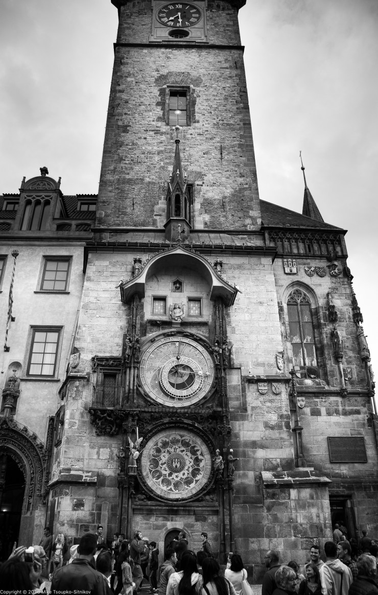 The astronimical clock at the Old Town Square