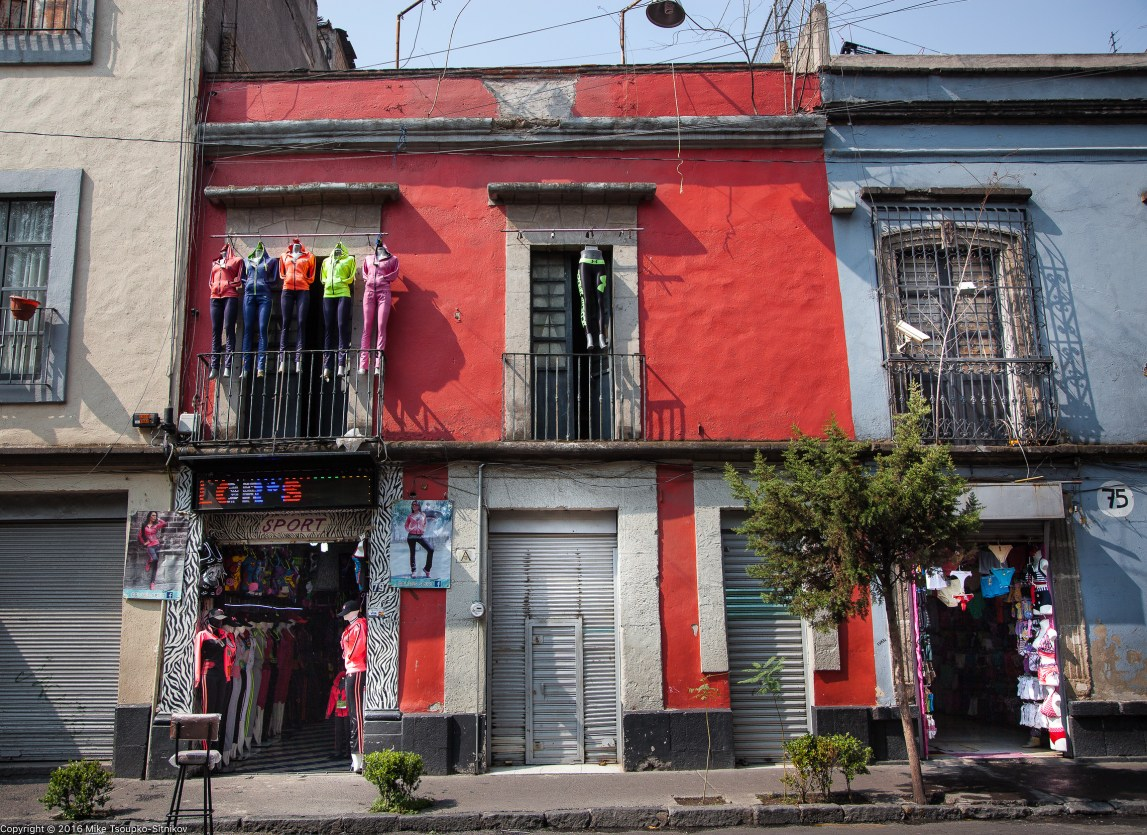 Calle Justo Sierra - a street view
