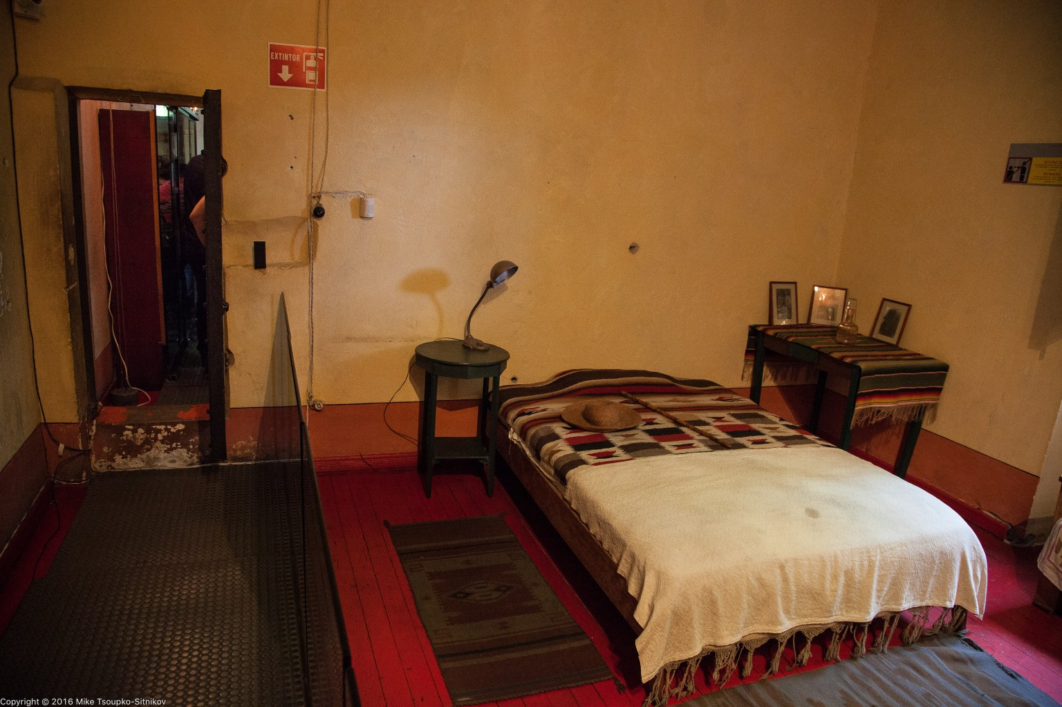 Trotsky house: the bedroom