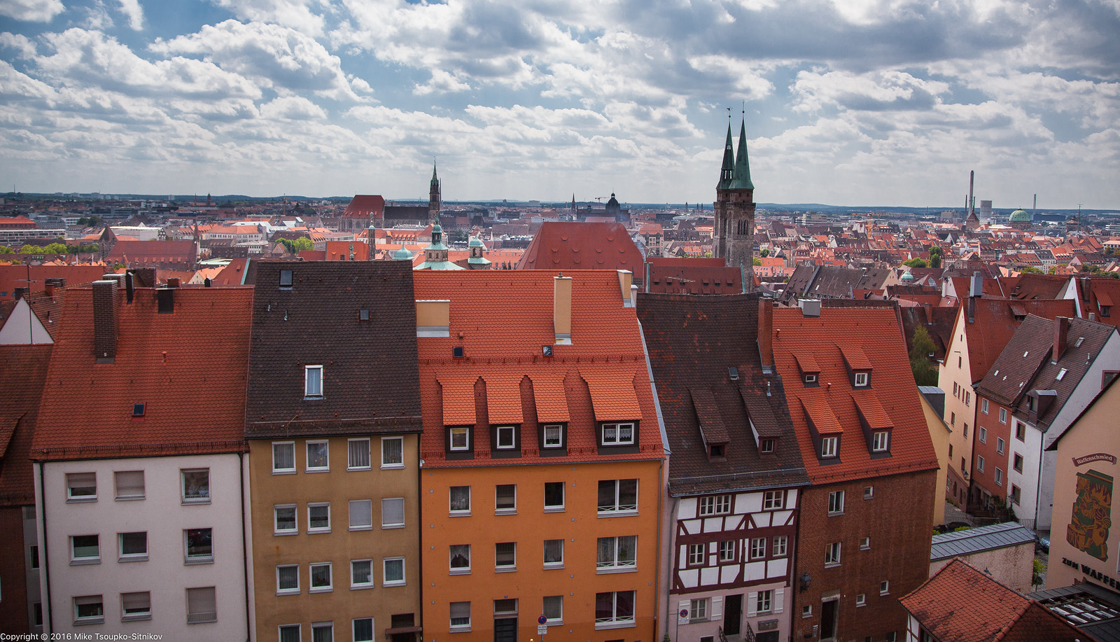 Nuremberg: a view from the Castle