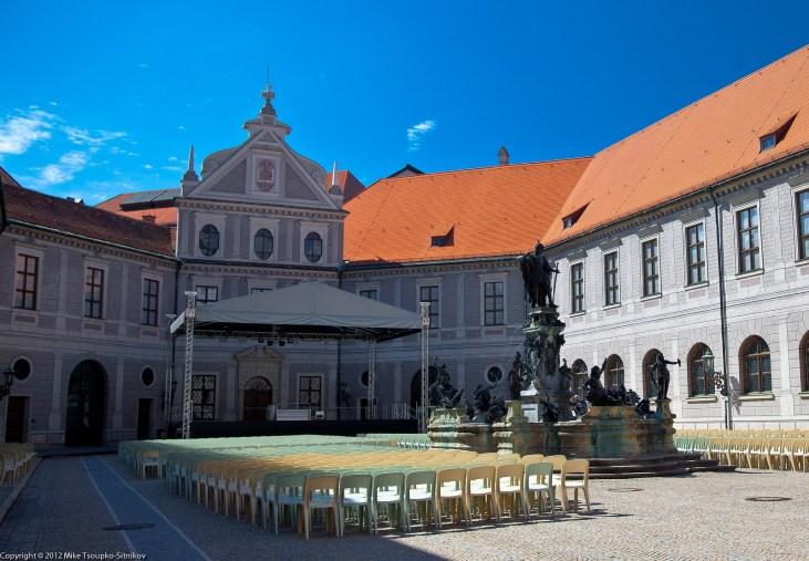 Residenz: the Fountain Courtayrd