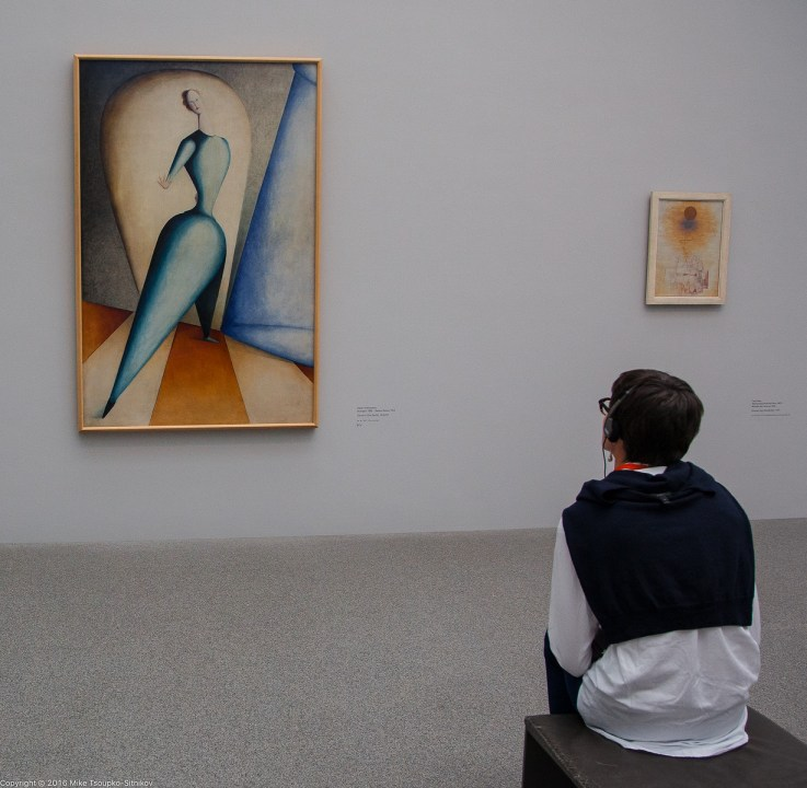 Schlemmer's Dancer at Pinakothek der Moderne