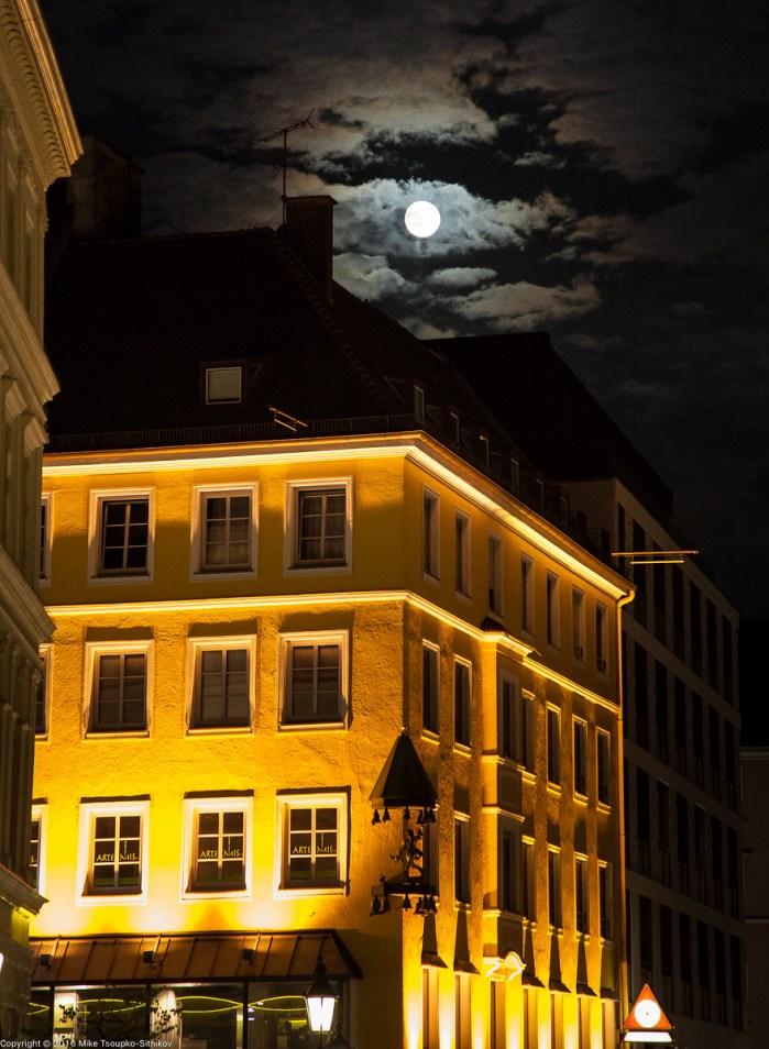 Munich on a summer night