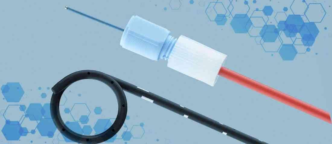 catéter Doble J Black silicon en procedimientos de drenado de riñón a vejiga