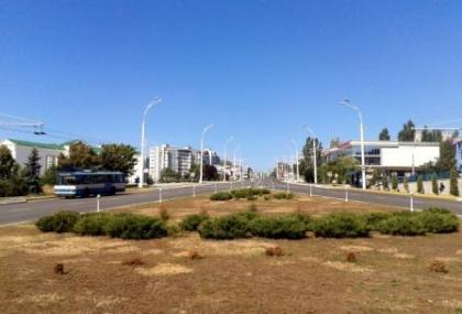 Bulevardul principal din Tighina