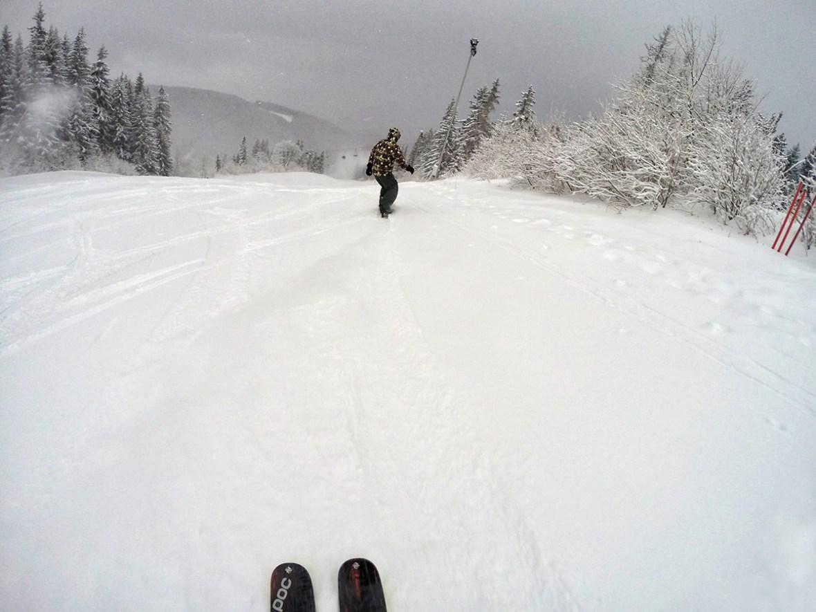 Кажи-речи единствения сняг на Витоша
