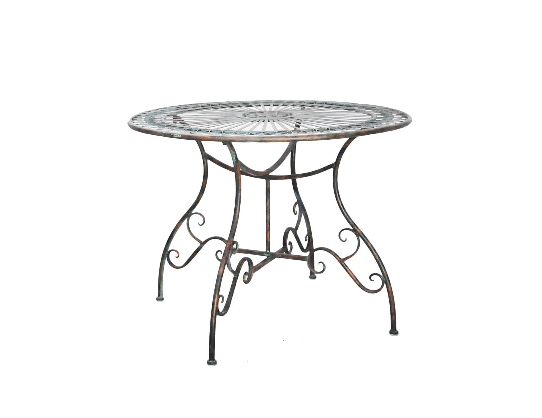 Table Salon De Jardin Gamm Vert | Salon De Jardin Vert Anis ...