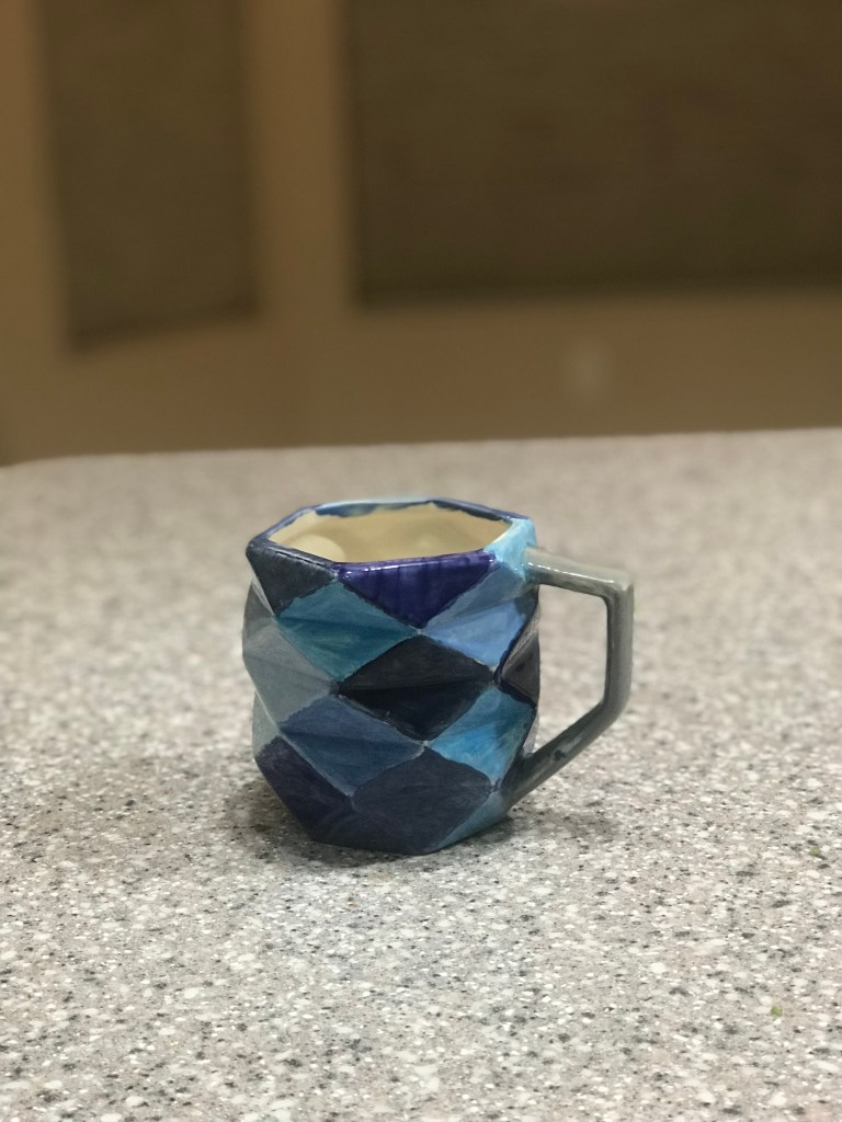 Pottery Painting - Color Me Mine - Demi Bang