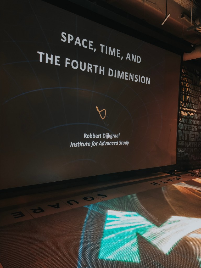 Math Encounters: Space, Time, and the Fourth Dimension