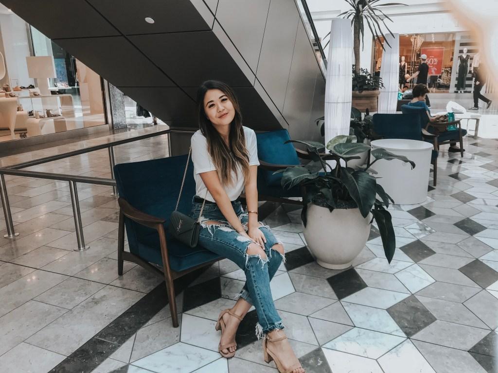 Scottsdale Fashion Square and Style of Scottsdale with Arizona blogger Demi Bang.