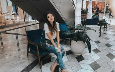 Scottsdale Fashion Square and Style in Scottsdale with Arizona blogger Demi Bang.