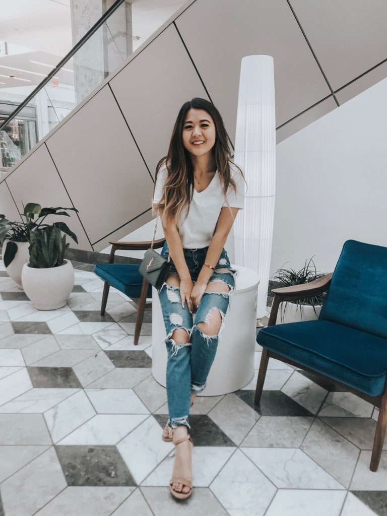 Arizona blogger, Demi Bang, at Style of Scottsdale.