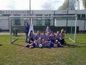 2010/2011 D6M Kampioen 1e Klasse 07