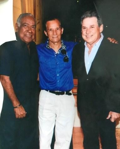 Mon junto a Cheo Feliciano y Chucho