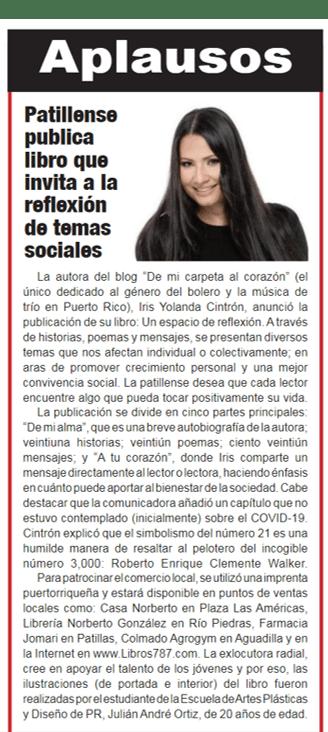 Noticia La Esquina libro UEDR