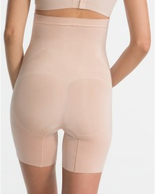 OnCore High-Waisted Mid-Thigh Short soft nude