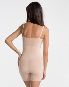 OnCore Mid-Thigh Bodysuit soft nude back