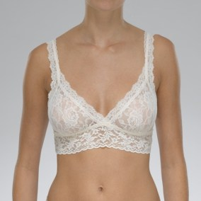 Signature Lace Bralette ivory