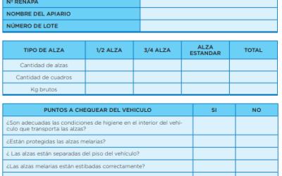 BUENAS PRÁCTICAS EN COSECHA DE MIEL Y TRANSPORTE DE ALZAS MELARIAS ORGANICAS