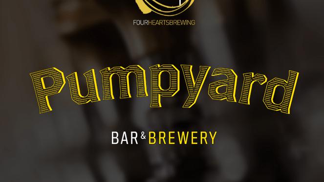 Pumpyard Bar and Brewery - http://www.4heartsbrewing.com/