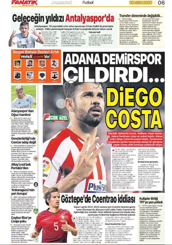 Adana Demirspor transferde çıldırdı! Diego Costa... 1 – Screenshot 8
