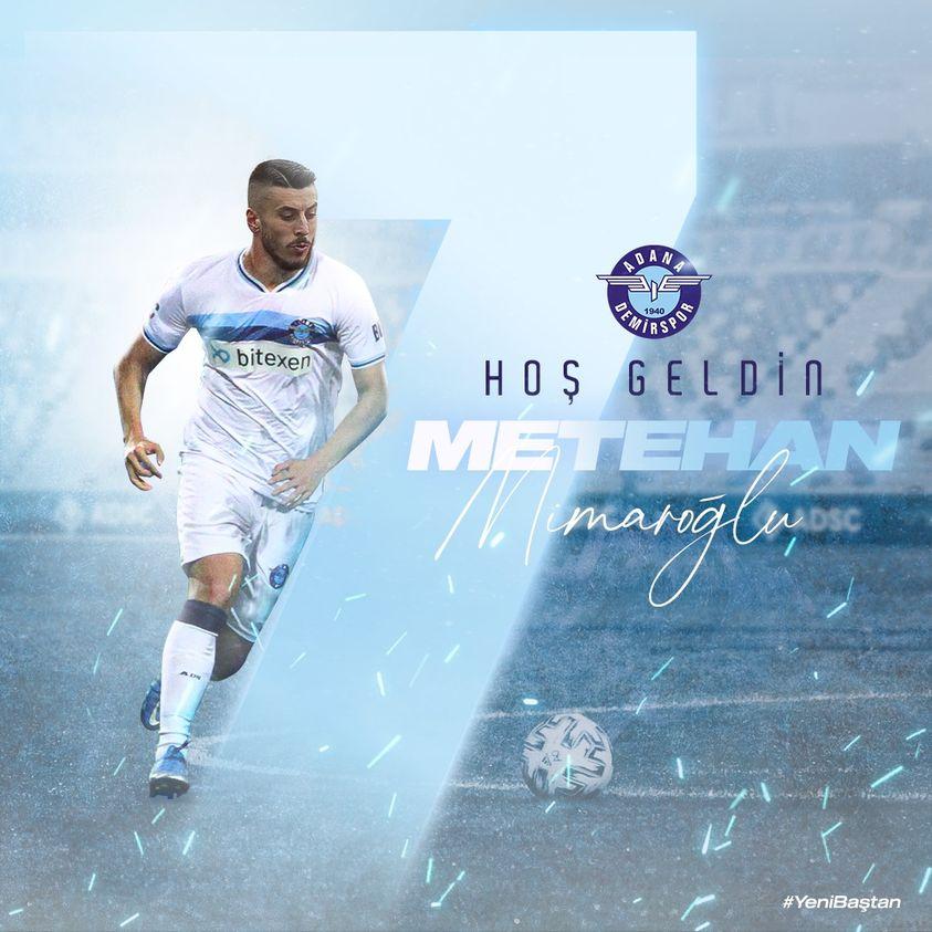 Adana Demirspor, Metehan Mimaroğlu'nu transfer etti 1 – 218571899 2072730016212081 717074039374485651 n 1