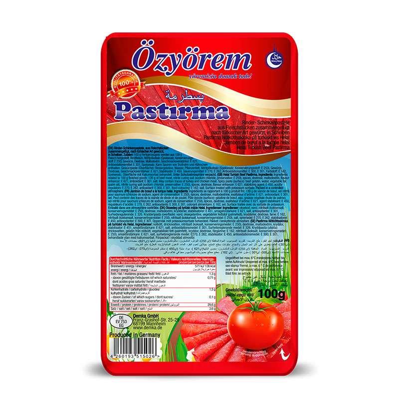 117400-Özyörem-Pastirma-Dilim-100-g