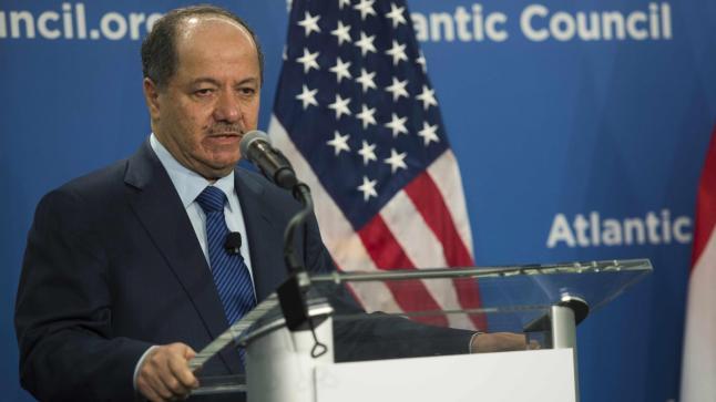 البارزاني: وحدة العراق اختيارية وليست إجبارية