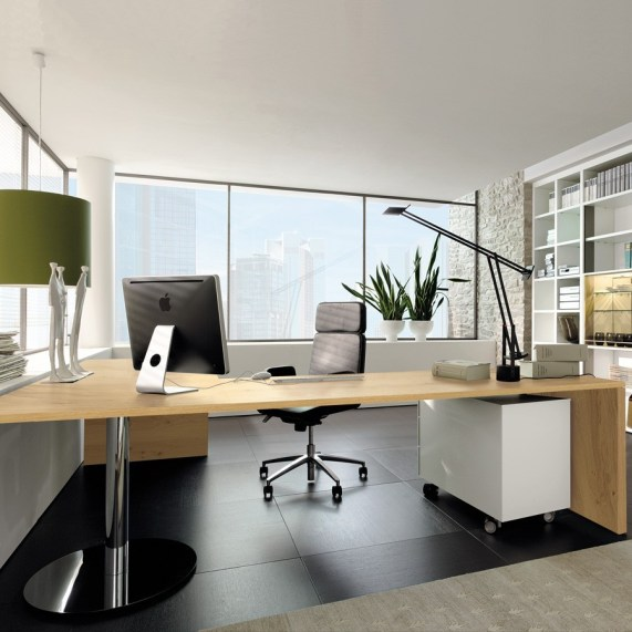 Stunning-Office-House-Interior-Design-with-Best-Home-Office-Desk-also-Black-Office-Chair
