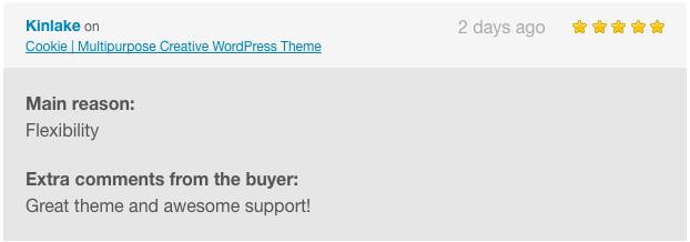 Cookie | Multipurpose Creative WordPress Theme - 4