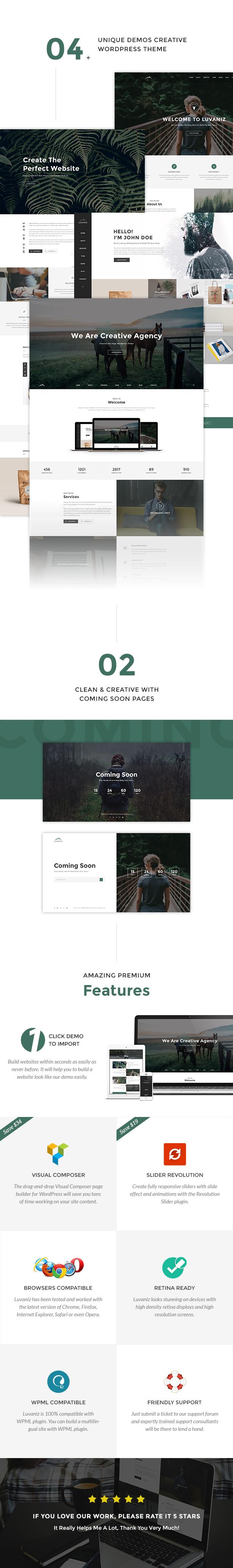 Luvaniz WordPress Theme