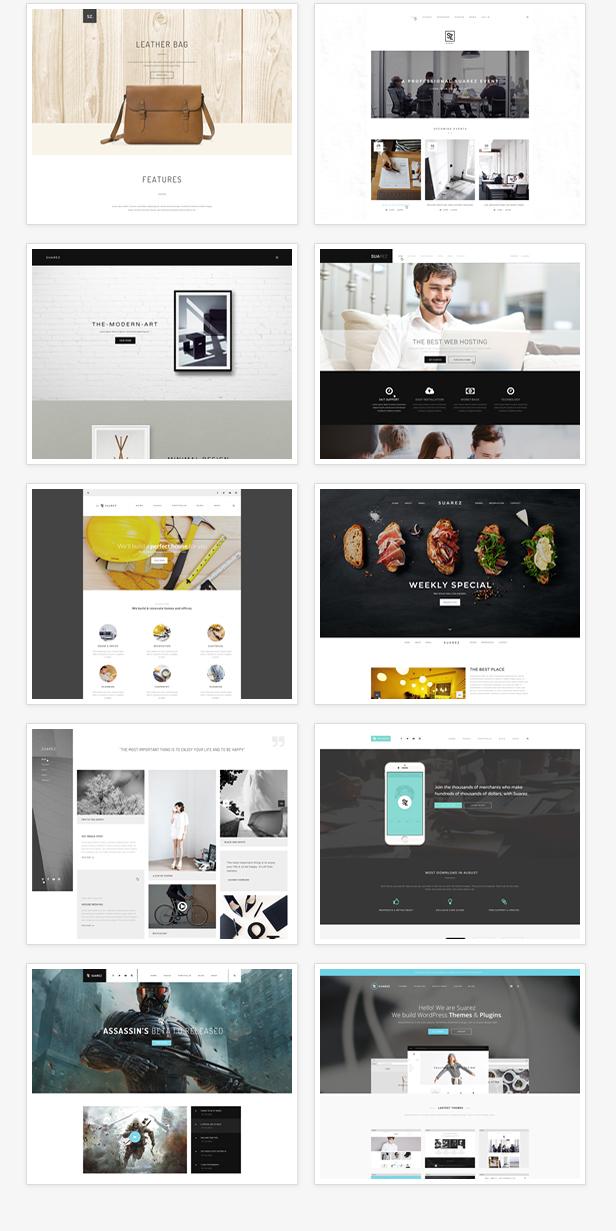 Suarez - Clean, Minimal & Modern Multi-Purpose WordPress Theme - 11