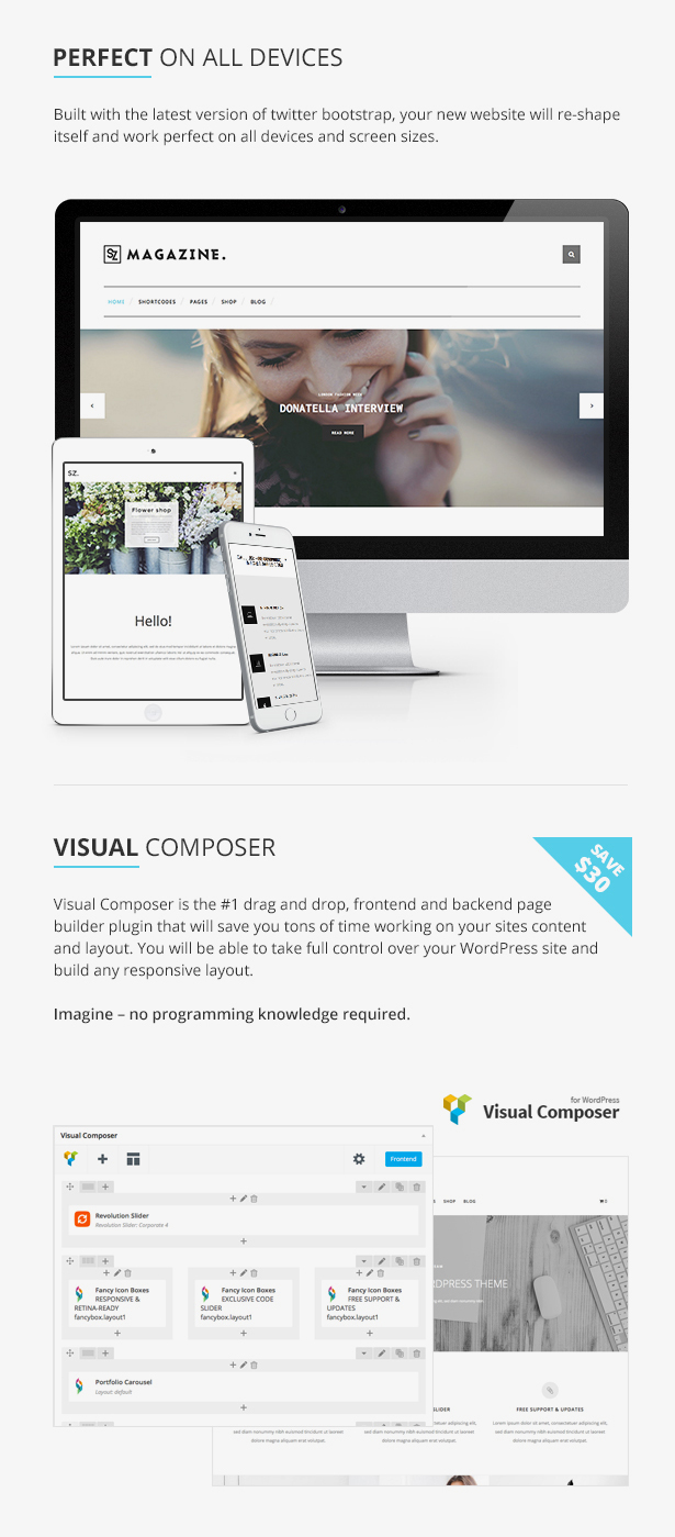 Suarez - Clean, Minimal & Modern Multi-Purpose WordPress Theme - 12