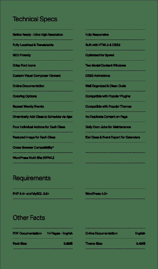 Events Schedule - WordPress Events Calendar Plugin - 16