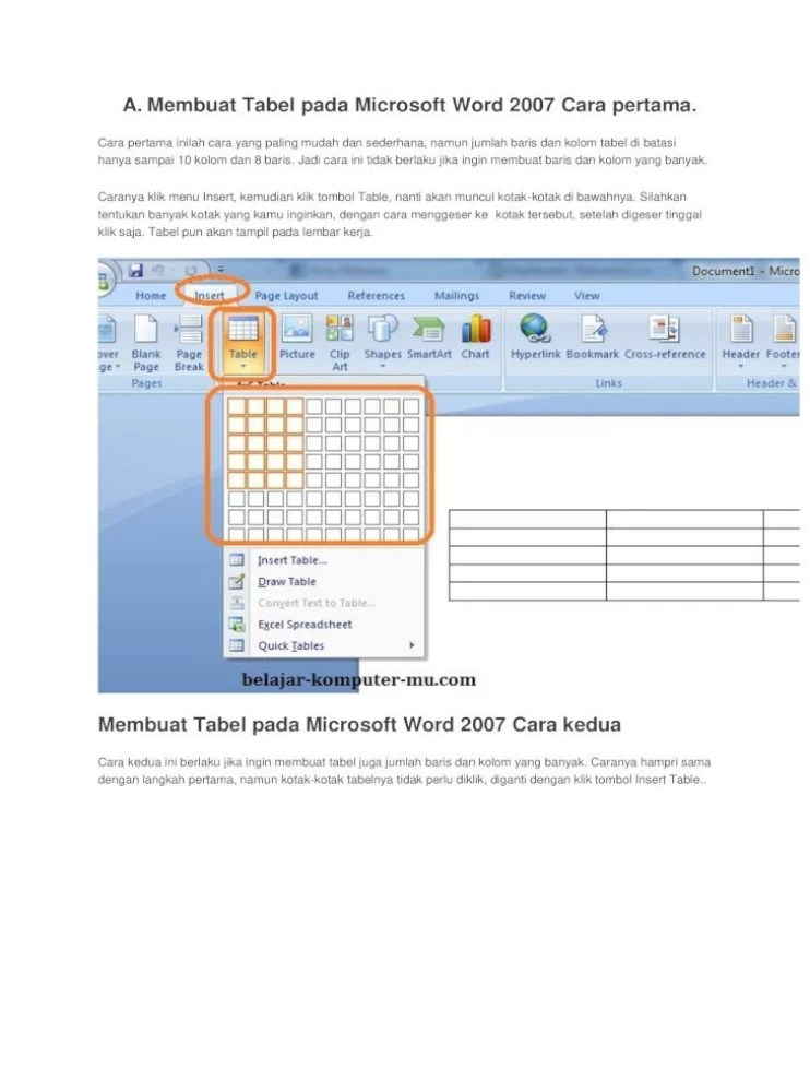 Cara Membuat Garis Kotak Di Word : membuat, garis, kotak, Membuat, Garis, Kotak, Microsoft, Belajar