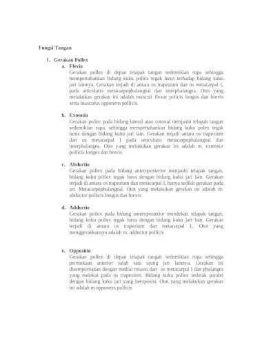Fungsi Telapak Tangan : fungsi, telapak, tangan, Fungsi, Tangan