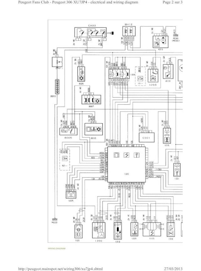 Wiring Diagram Peugeot 106 Gti : Engine Loom Wiring