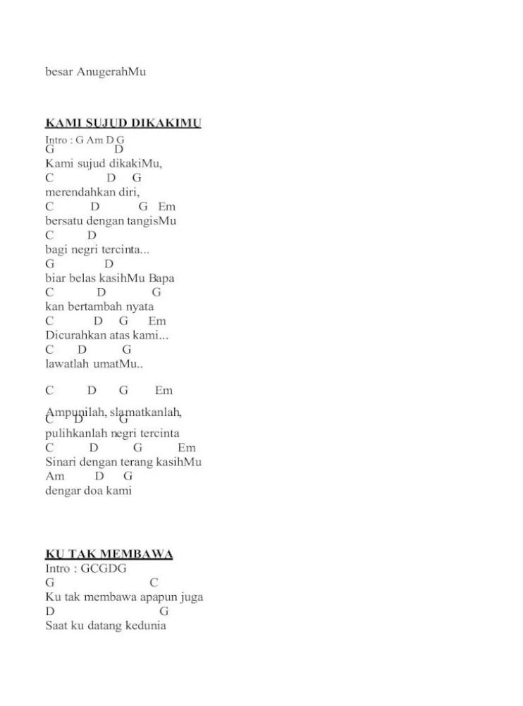Chord Lagu Rohani Nikita : chord, rohani, nikita, Chord, Gitar, Rohani, Kristen, Jangan, Lelah, Goreng